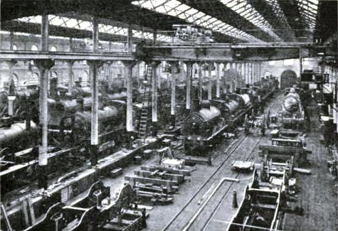 THE ERECTING SHOP, COWLAIRS