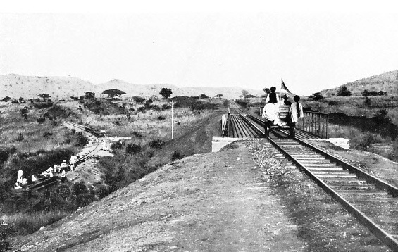 A BIG LOOP ON THE UGANDA RAILWAY TO OVERCOME A SUDDEN STEEP ASCENT