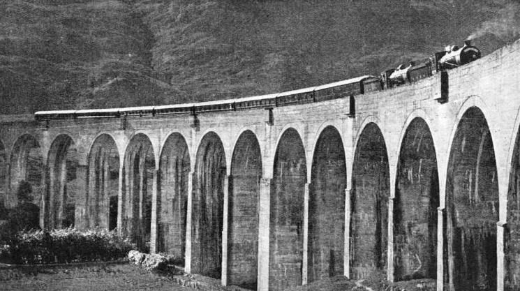 GLENFINNAN VIADUCT, in the Highlands