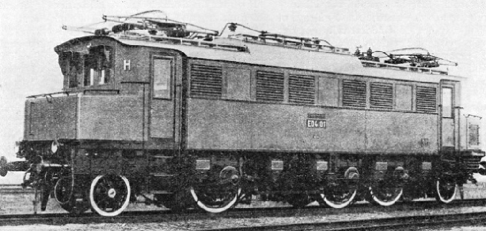 One of the World's Fastest Electric Locomotives