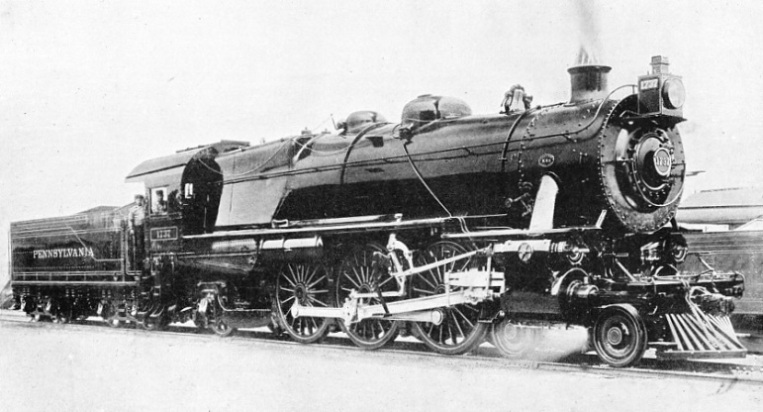 "PENNSYLVANIA RAILROAD'S ""PACIFIC"" (K4s TYPE) FOR EXPRESS PASSENGER SERVICE"