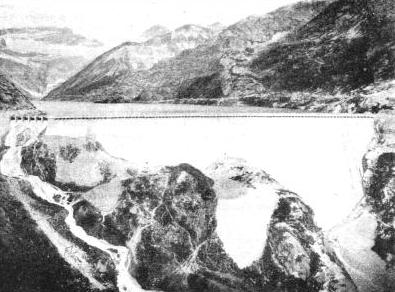 the great Barberine Dam