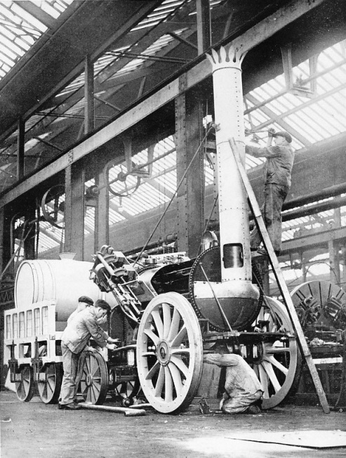 Building the Rocket in 1935