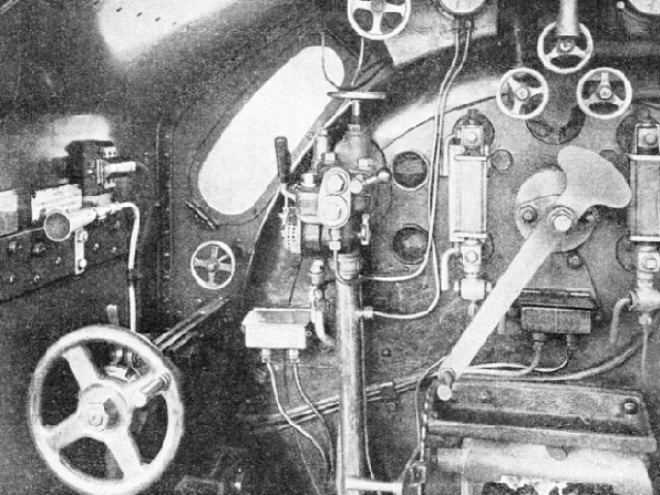THE POSITION of the Strowger-Hudd apparatus in the engine cab