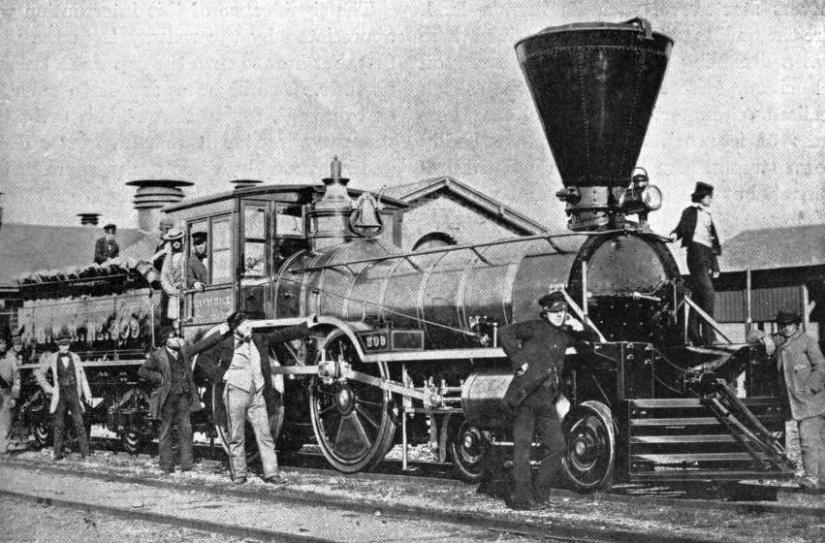 "THE ""TREVITHICK"", A FAMOUS FOUR WHEEL COUPLED FLYER OF ITS DAY"