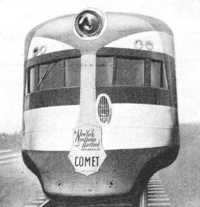 "A HEAD-ON VIEW OF THE ""COMET"""