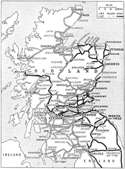 Scottish railway system