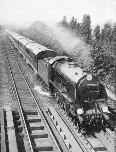 "The ""Bournemouth Limited"" of the Southern Railway"