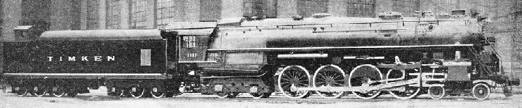 A Giant 4-8-4 Locomotive