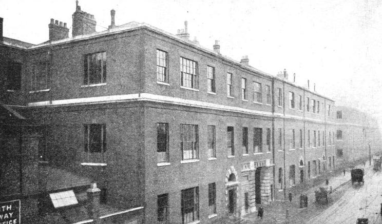 The Railway Clearing House building in Seymour Street