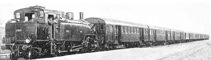 ON THE SUBURBAN LINES of the Northern Railway of France superheated tank engines are extensively used