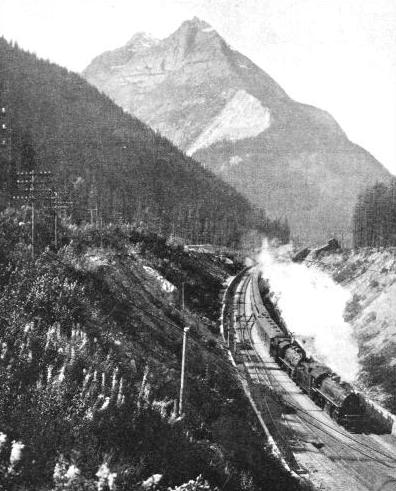 THE KICKING-HORSE PASS