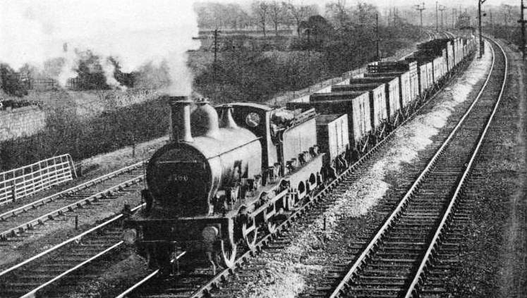 A goods train near Duffield