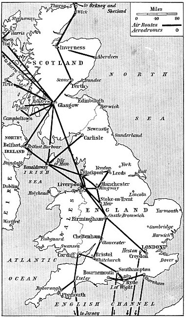 Railway Air Services map