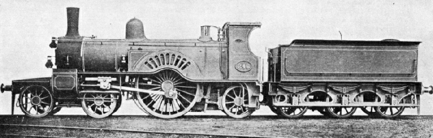 A Great Eastern express engine of 1879