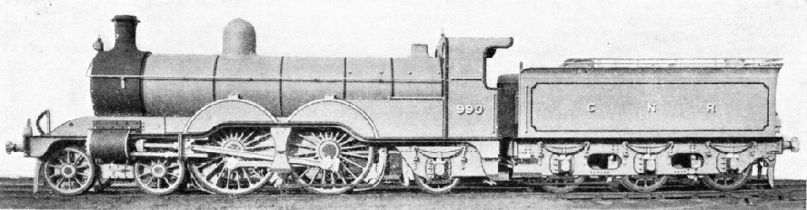 "The first ""Atlantic"" express engine in Great Britain"