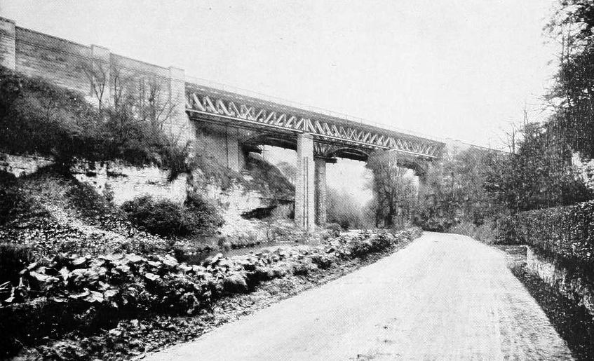 MILLER'S DALE VIADUCTS, 1905