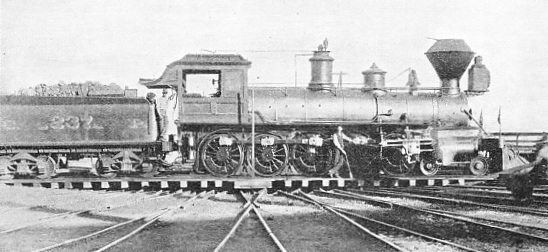"""EL GUBERNADOR"", THE FIRST LOCOMOTIVE TO BE FITTED WITH TEN COUPLED DRIVING WHEELS"