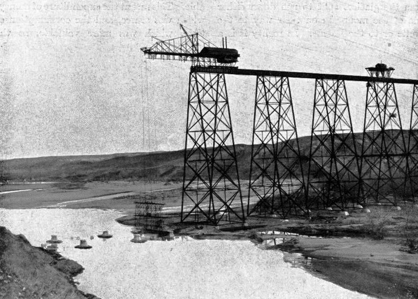 BUILDING THE LETHBRIDGE VIADUCT