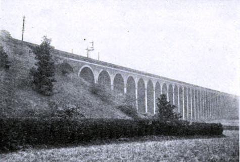 The Digswell Viaduct at Welwyn, Great Northern Railway
