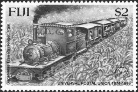 One of the Colonial Sugar Refining Company's free passenger trains