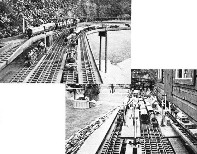 TWO VIEWS of Mr. Cecil J. Allen's line