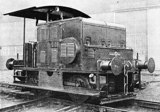 0-4-0 TYPE of shunting locomotive built by Sir W G Armstrong-Whitworth and Co (Engineers) Ltd, in 1933
