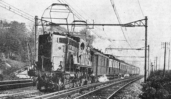 "THE ""SUD EXPRESS"" of the Paris-Orleans-Midi line"