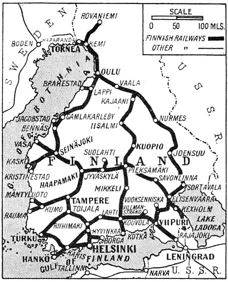 THE FINNISH STATE RAILWAYS