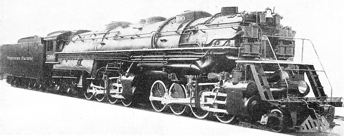 THE WORLD'S LARGEST steam locomotives