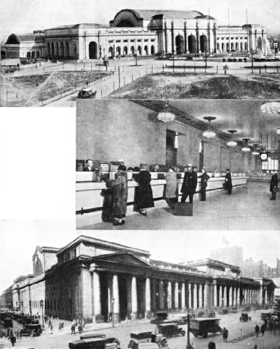Stations of the Pennsylvania Railroad