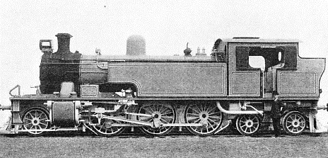 A 2-6-4 tank locomotive built for a 5 ft 6 in gauge line by Robert Stephenson & Co
