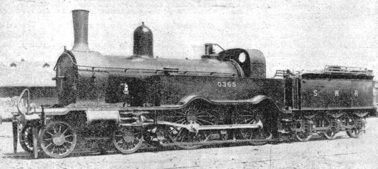 A London and South Western engine built in 1877