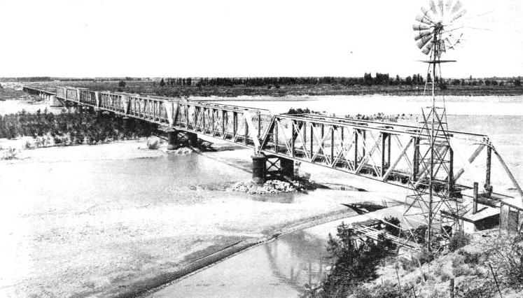 NEUQUEN BRIDGE, on the Buenos Ayres Great Southern Railway