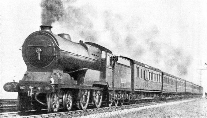 An Edinburgh-Glasgow express on the LNER