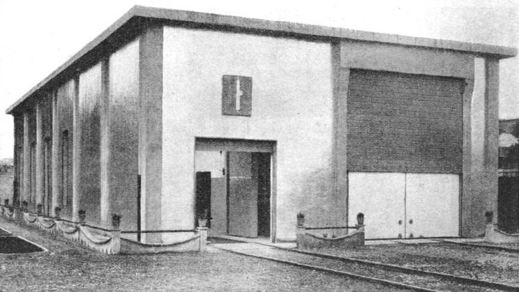 THE ISOTHERMIC BUILDING of the Italian State Railways at Rome