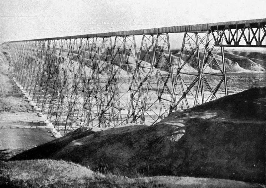 THE LETHBRIDGE VIADUCT, ALBERTA