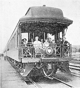 A CANADIAN OBSERVATION CAR