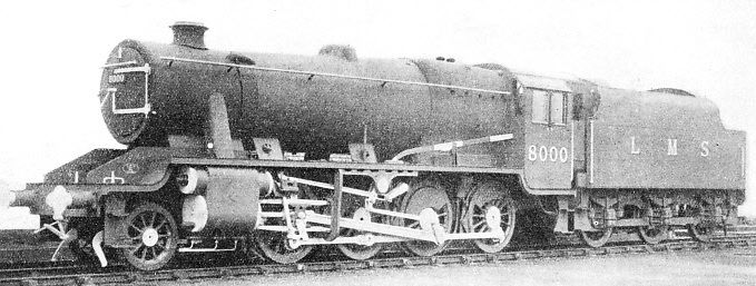 2-8-0 TWO-CYLINDER HEAVY GOODS ENGINE introduced on the LMS in 1935