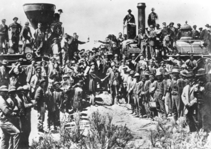 AMERICA'S FIRST TRANSCONTINENTAL RAILWAY