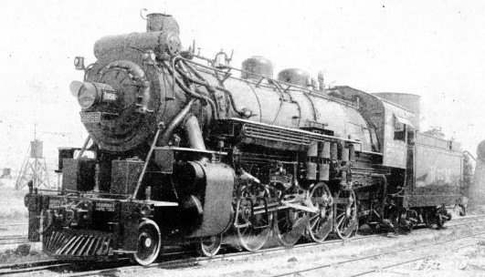 4-8-0 locomotive of the National Railways of Mexico