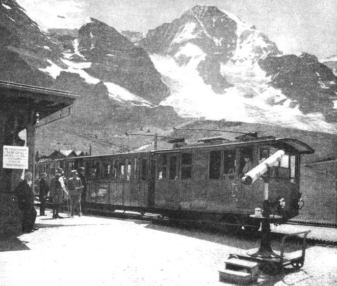 KLEINE SCHEIDEGG STATION, 6,770 ft, above sea-level
