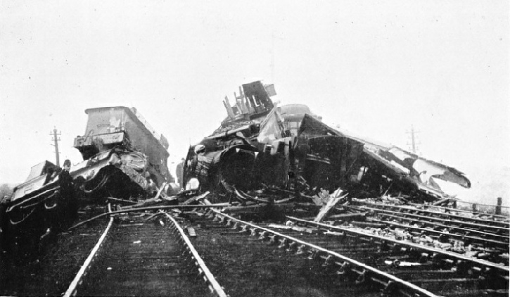 The Thirsk accident on the North Eastern Railway