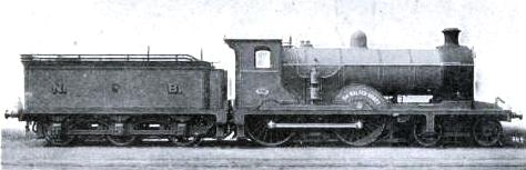 "NO. 893 EXPRESS PASSENGER ENGINE ""SIR WALTER SCOTT"""