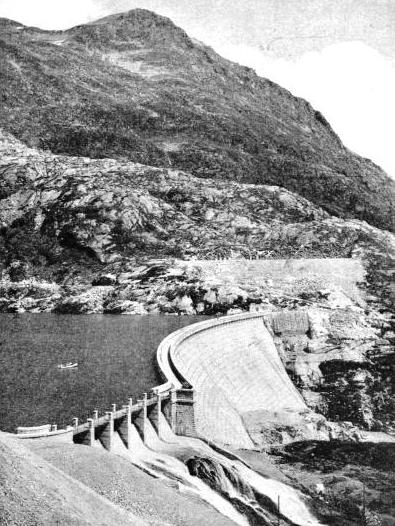 the Barberine Dam
