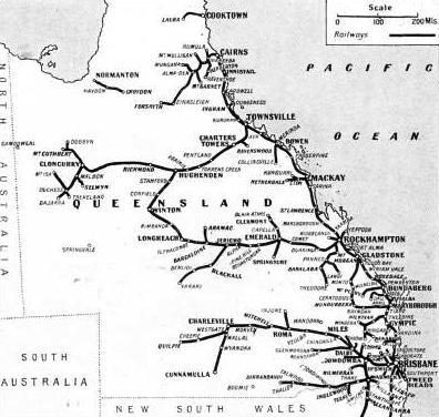 THE RAILWAYS OF QUEENSLAND