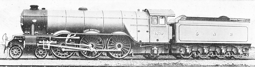 "GIANT ""PACIFIC"" INTRODUCED UPON THE GREAT NORTHERN RAILWAY FOR ITS SCOTTISH EXPRESS TRAFFIC, 1922"