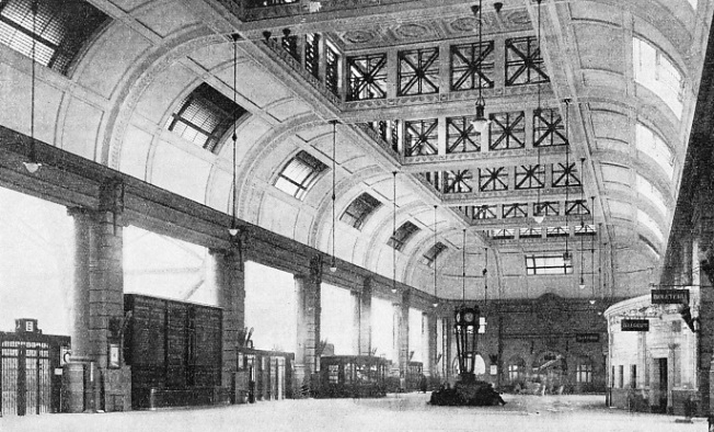 THE GRAND HALL of the Retiro Terminus of the Central Argentine Railway