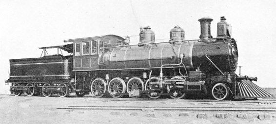 "THE FIRST ""DECAPOD"" (2-10-0) BUILT BY THE BALDWIN LOCOMOTIVE WORKS FOR THE DOM PEDRO SECUNDO"
