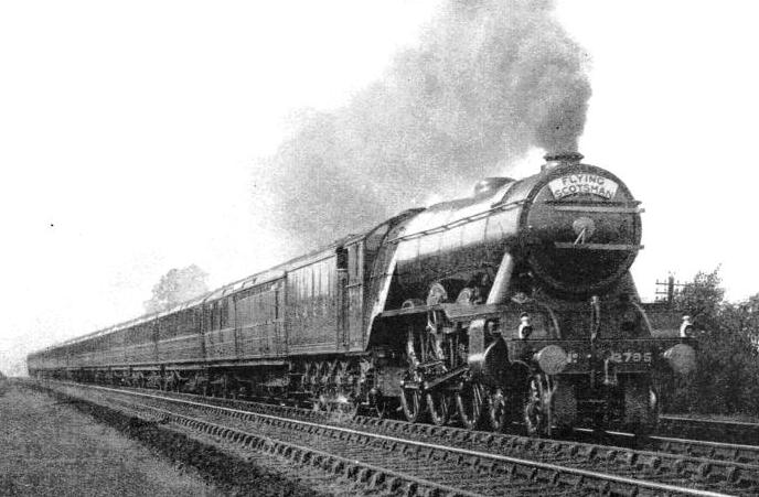 "The ""Flying Scotsman"" express"